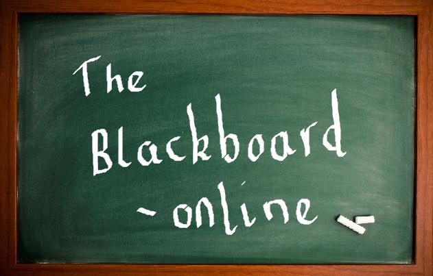 The Blackboard – online